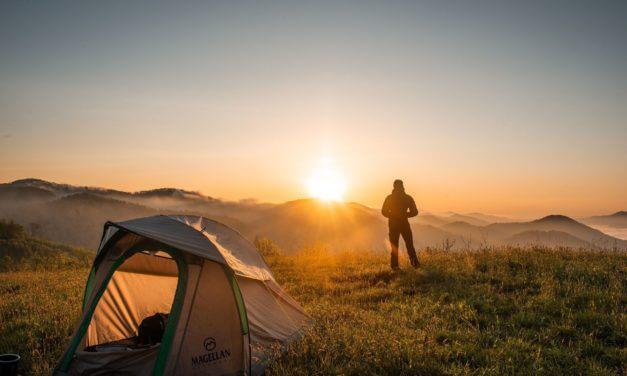 Boetes voor wildkamperen, alle landen op een rij