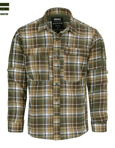 Flanel Contractor Shirt Front