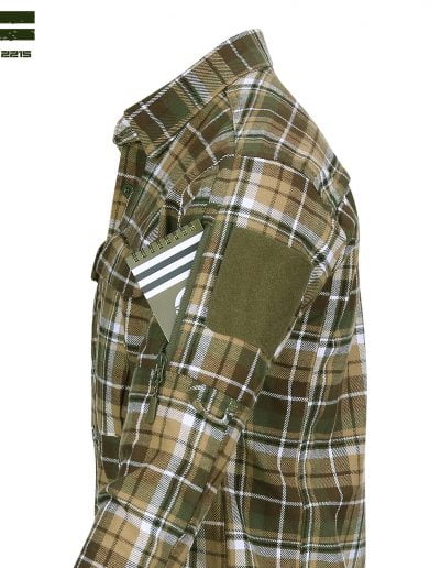 Flanel Contractor Shirt Side