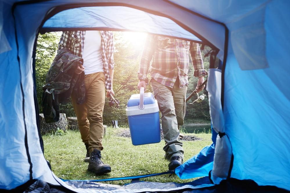 tent en coolbox