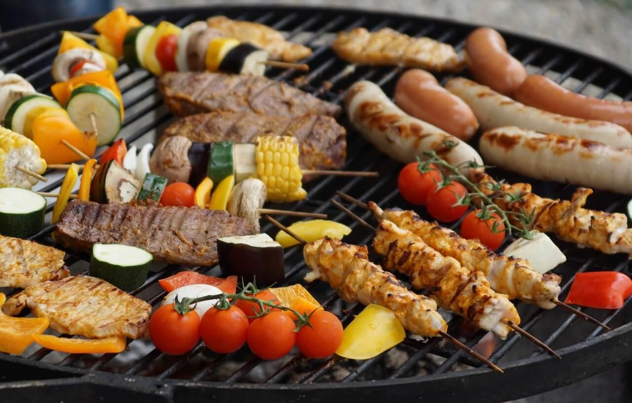 Barbecue Met Eten