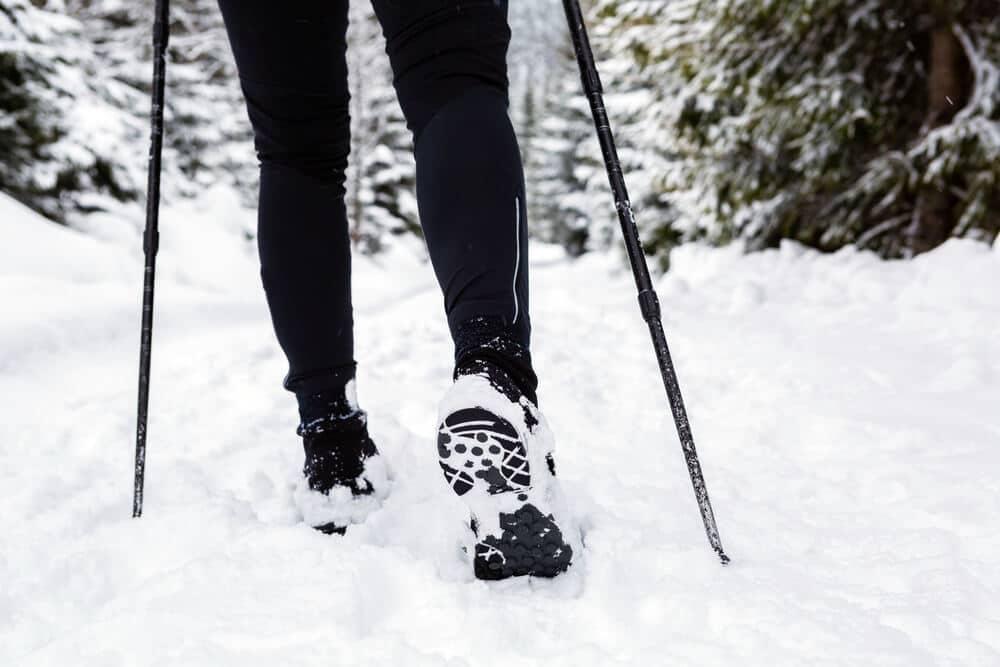 Schoenen In De Winter