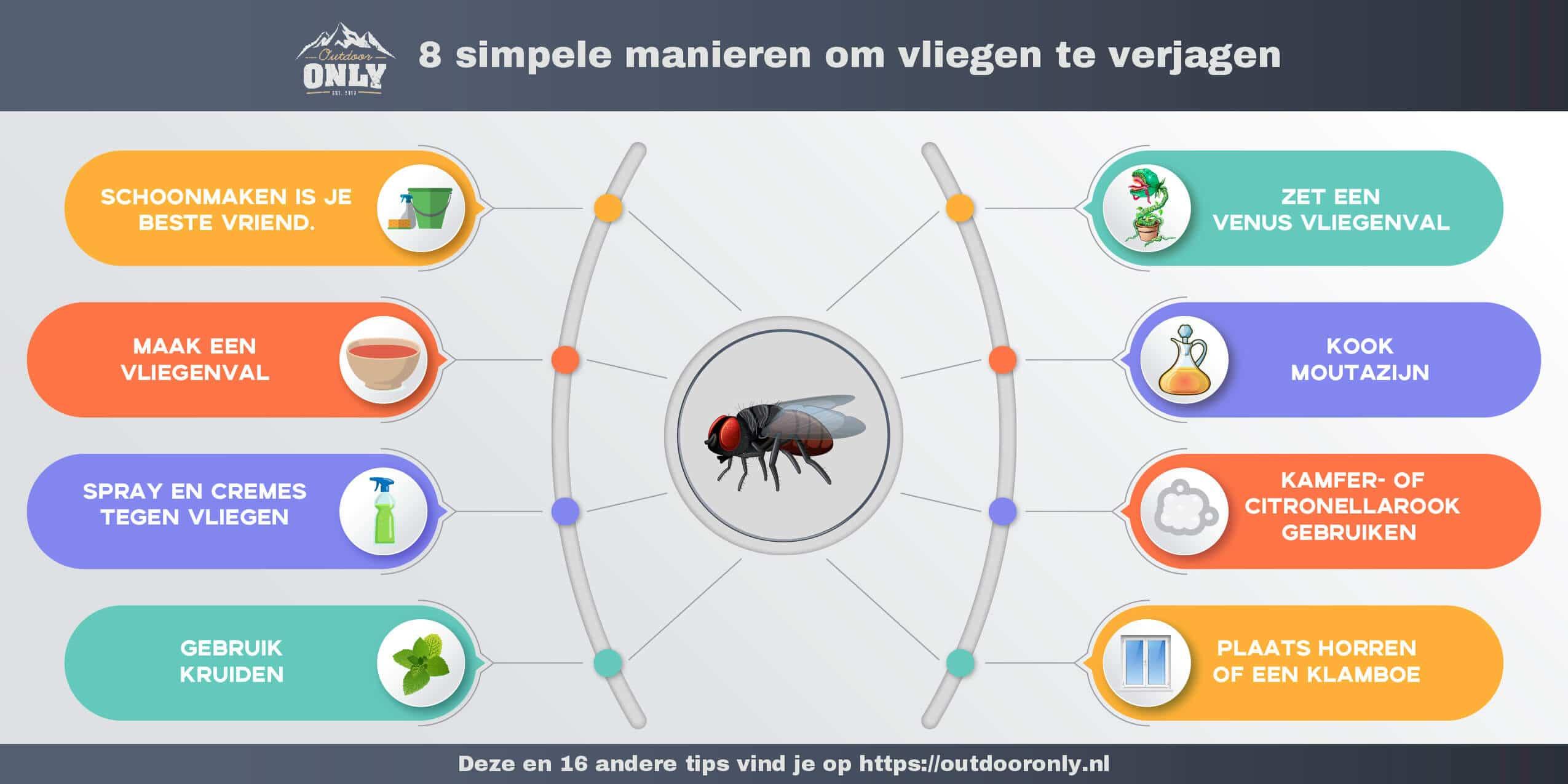 Vliegen Verjagen Infographic