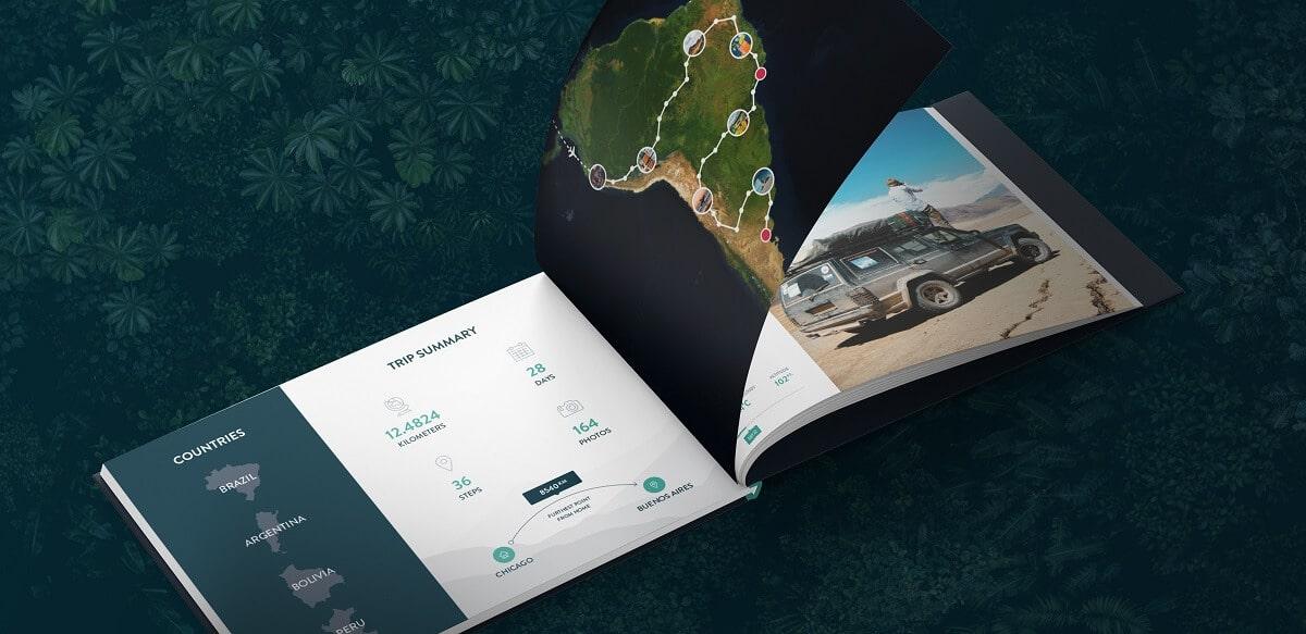 polarsteps travelbook