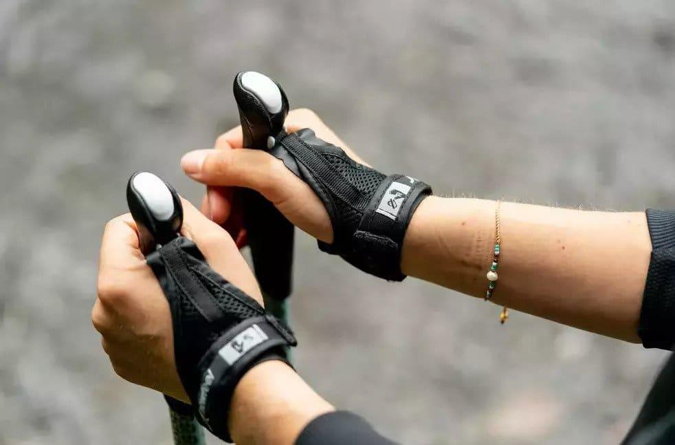 nordic walking stokken straps