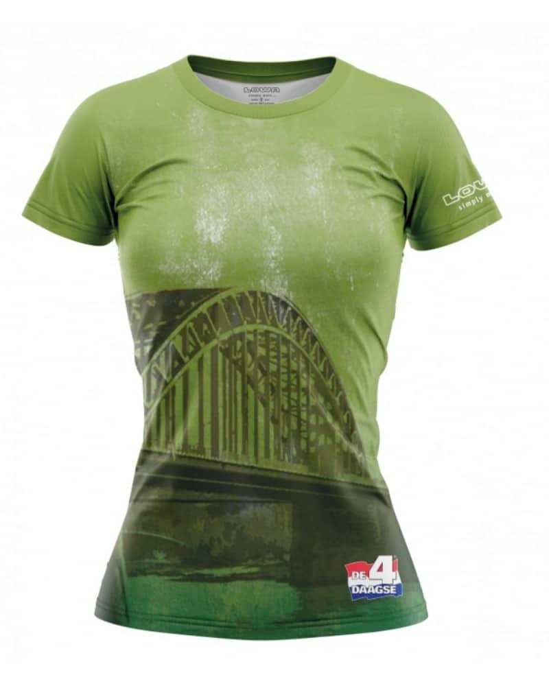 vierdaagse shirt waalbrug w groen